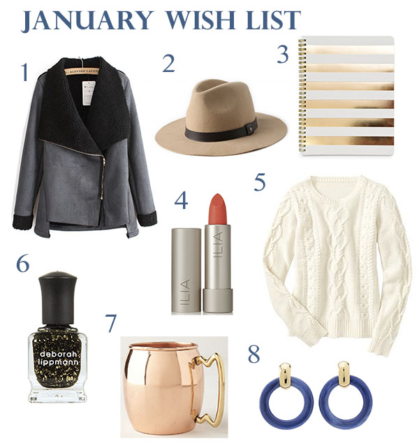 January Wish List