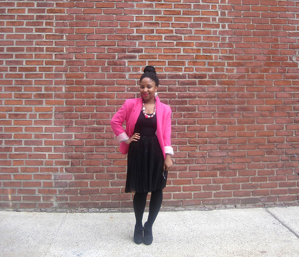 Hot Pink and Black 1   Shen Dove