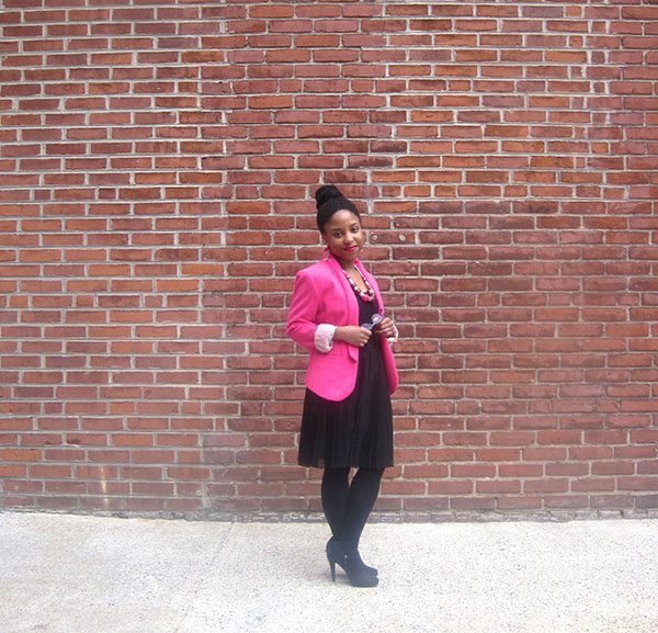Hot Pink and Black 2   Shen Dove