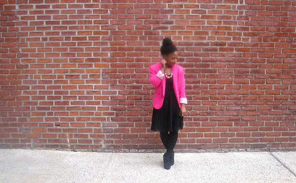 Hot Pink and Black 3   Shen Dove