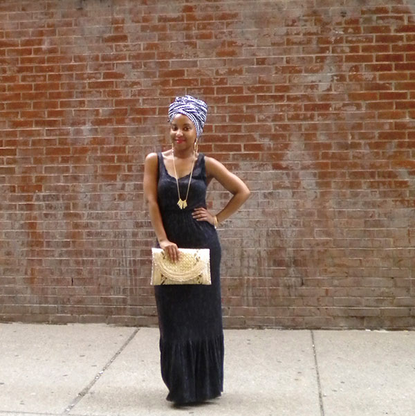 Black and Turbaned 1